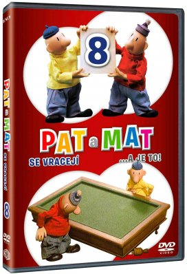 PAT A MAT 8 (A JE TO) - DVD