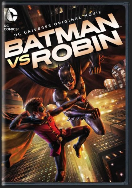 detail BATMAN VS ROBIN - DVD