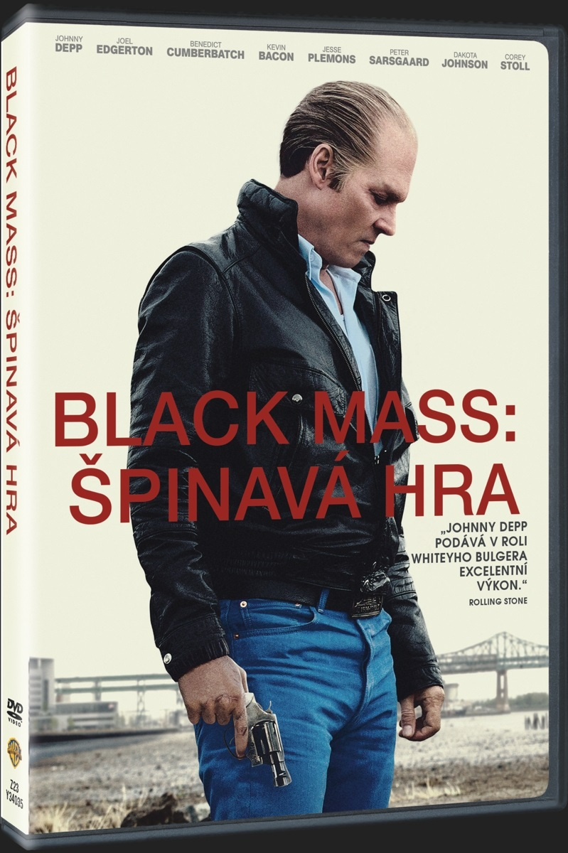 BLACK MASS: ŠPINAVÁ HRA - DVD