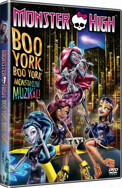detail Monster High: Boo York - DVD