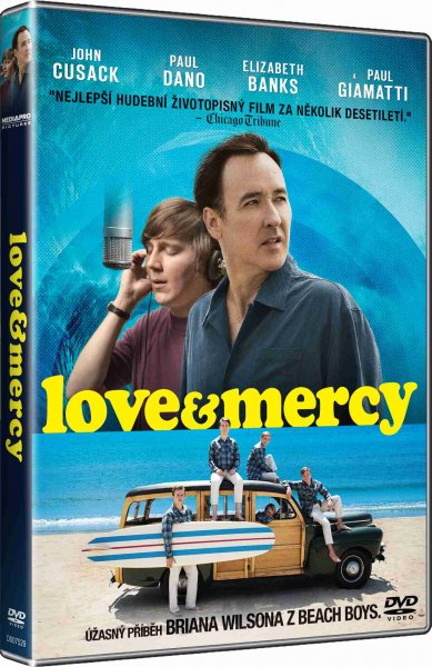 detail Love & Mercy - DVD