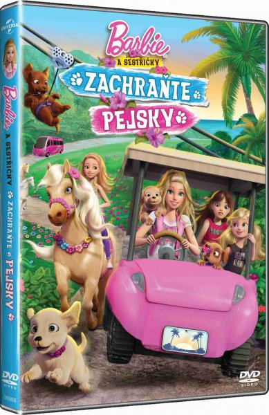 detail BARBIE: ZACHRAŇTE PEJSKY - DVD
