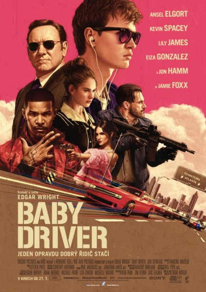 detail Baby Driver - DVD