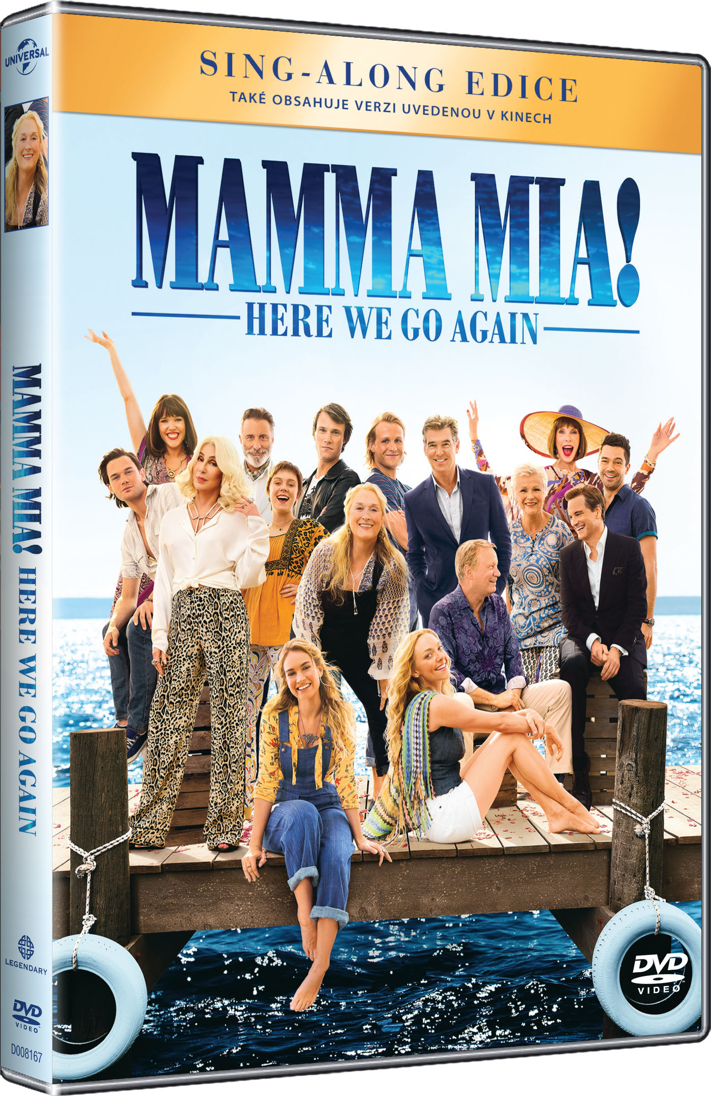 Mamma Mia: Here We Go Again! - DVD