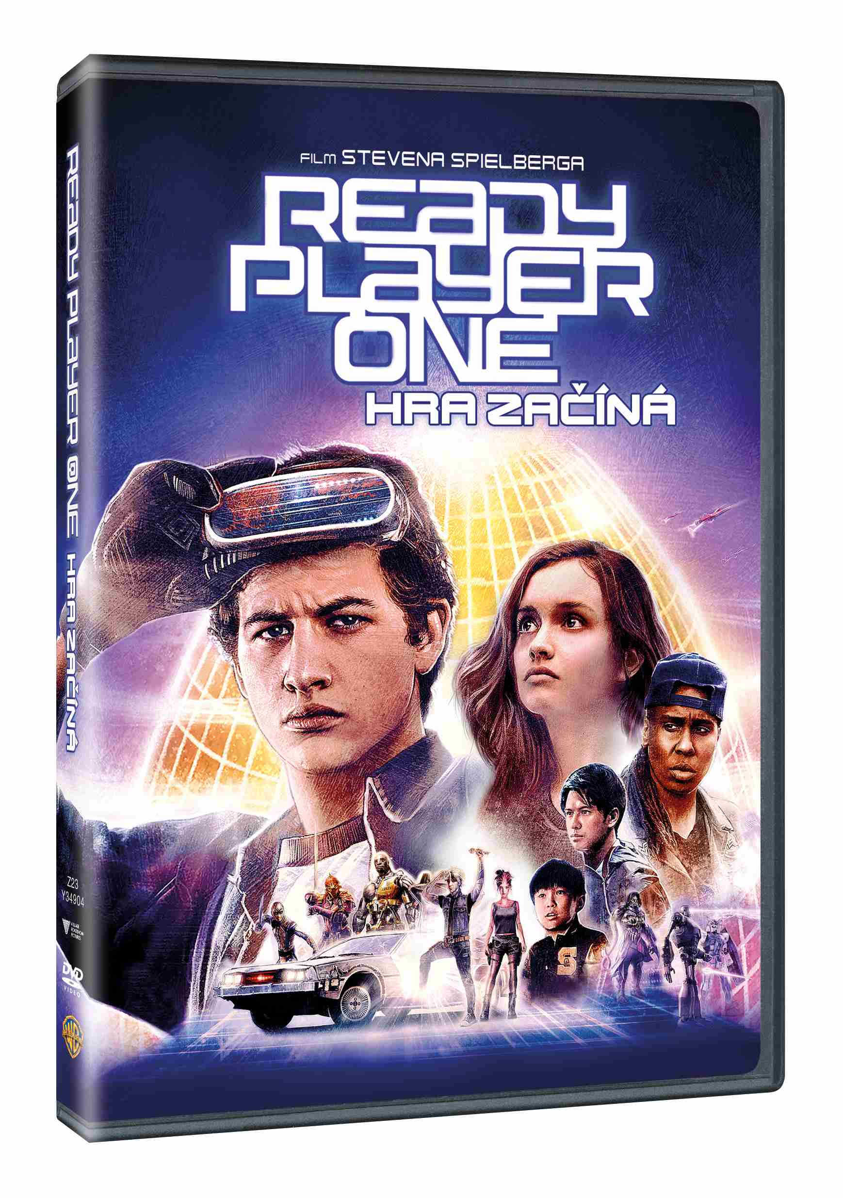 Ready Player One: Hra začíná - DVD