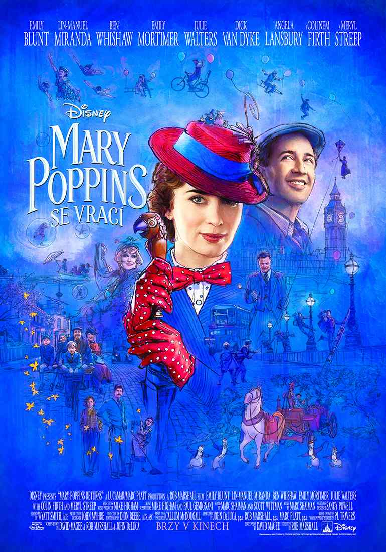 Mary Poppins se vrací - DVD