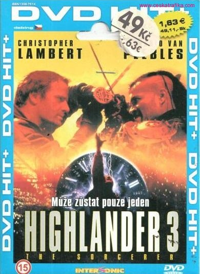 detail Highlander 3 - DVD pošetka