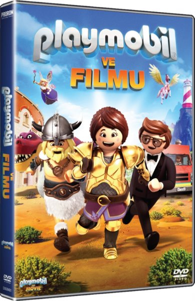 detail Playmobil ve filmu - DVD