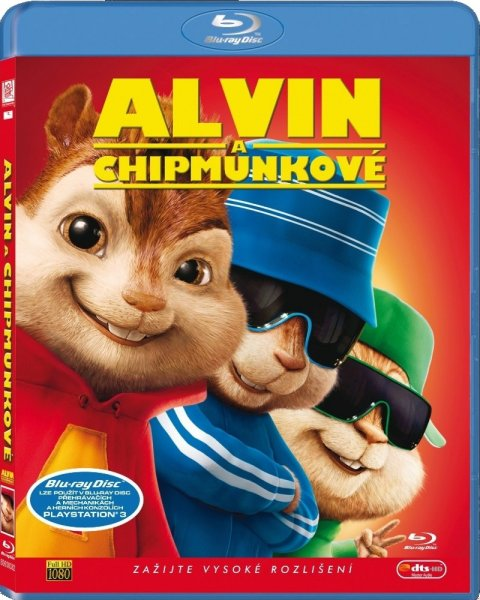detail ALVIN A CHIPMUNKOVÉ - Blu-ray