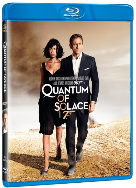 detail BOND - QUANTUM OF SOLACE - Blu-ray