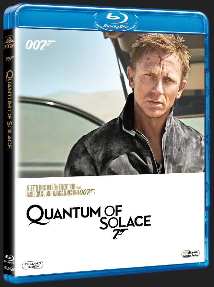 BOND - QUANTUM OF SOLACE - Blu-ray