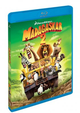 Madagaskar 2: Útěk do Afriky - Blu-ray