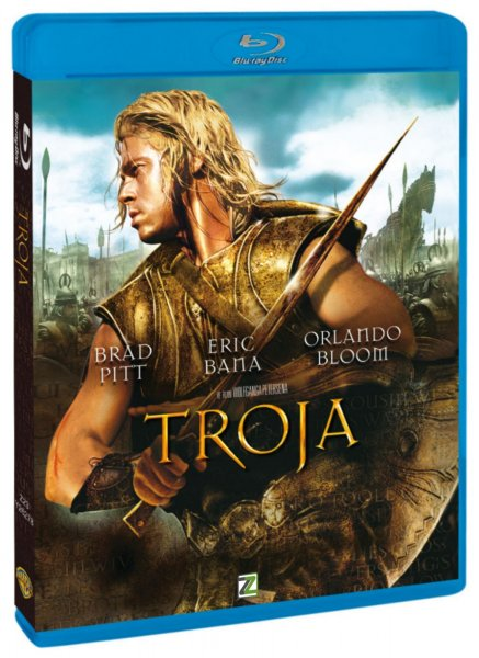 detail TRÓJA - Blu-ray