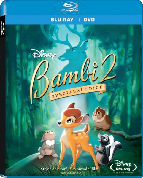 detail Bambi 2 - Blu-ray+DVD (Combo pack)
