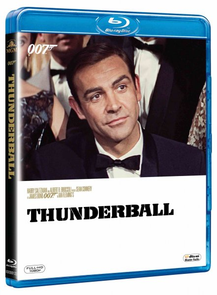 detail BOND - THUNDERBALL - Blu-ray