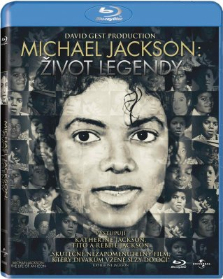 Michael Jackson: Život legendy - Blu-ray