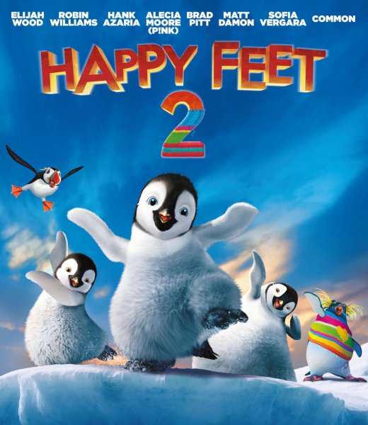 detail Happy Feet 2 - Blu-ray