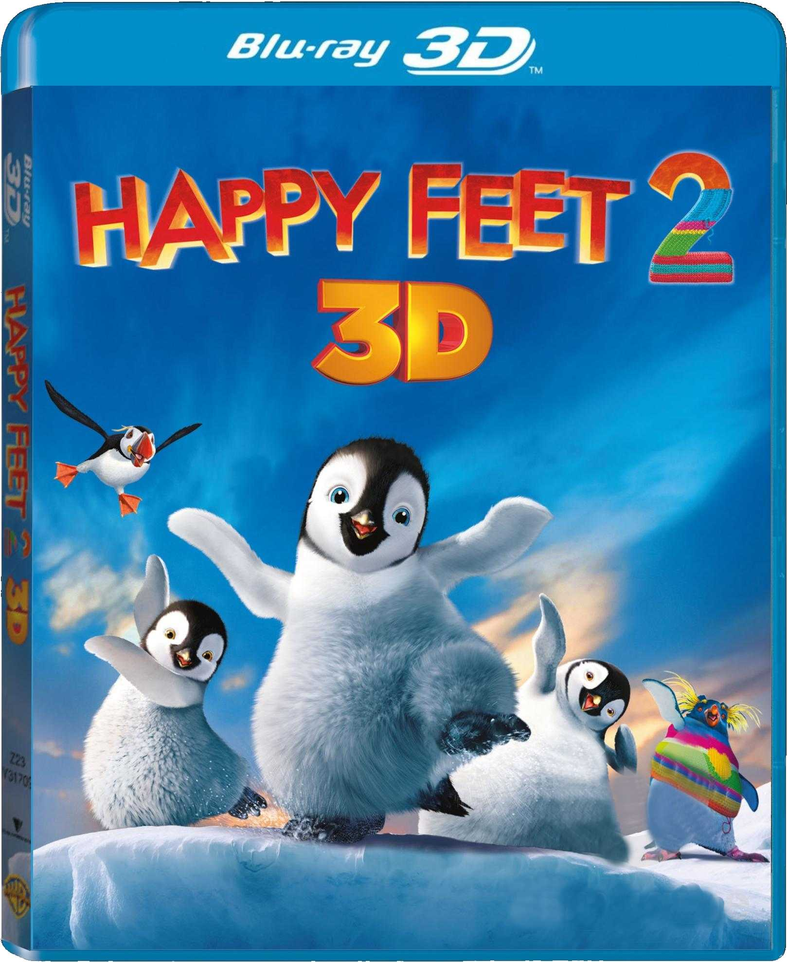 HAPPY FEET 2 - Blu-ray 3D + 2D
