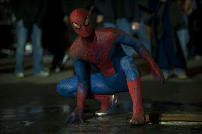 detail AMAZING SPIDER-MAN - Blu-ray 3D + 2D