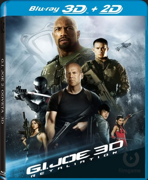 detail G.I. Joe 2: Odveta - Blu-ray 3D + 2D