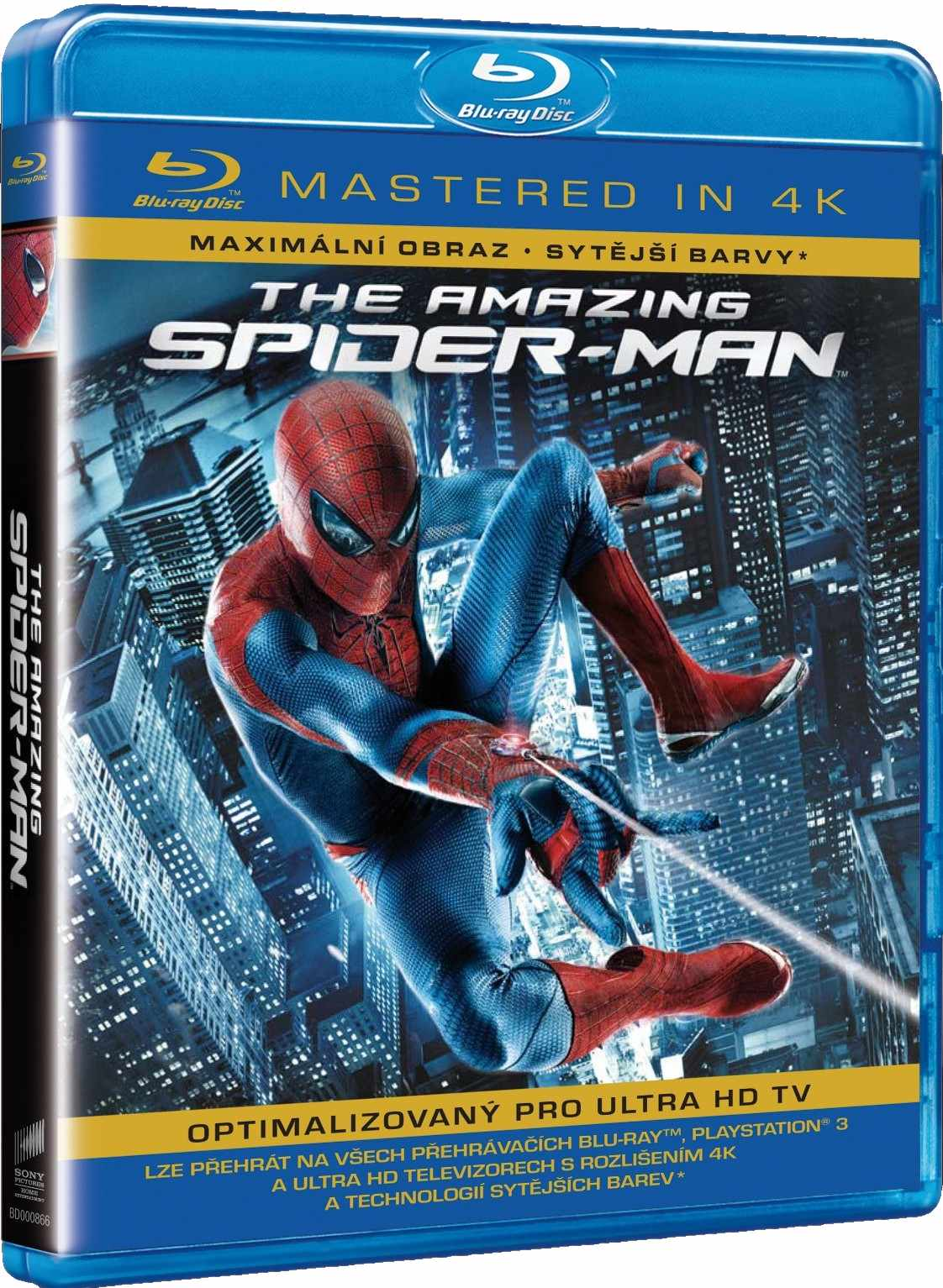 AMAZING SPIDER-MAN - Blu-ray (Mastered in 4K)