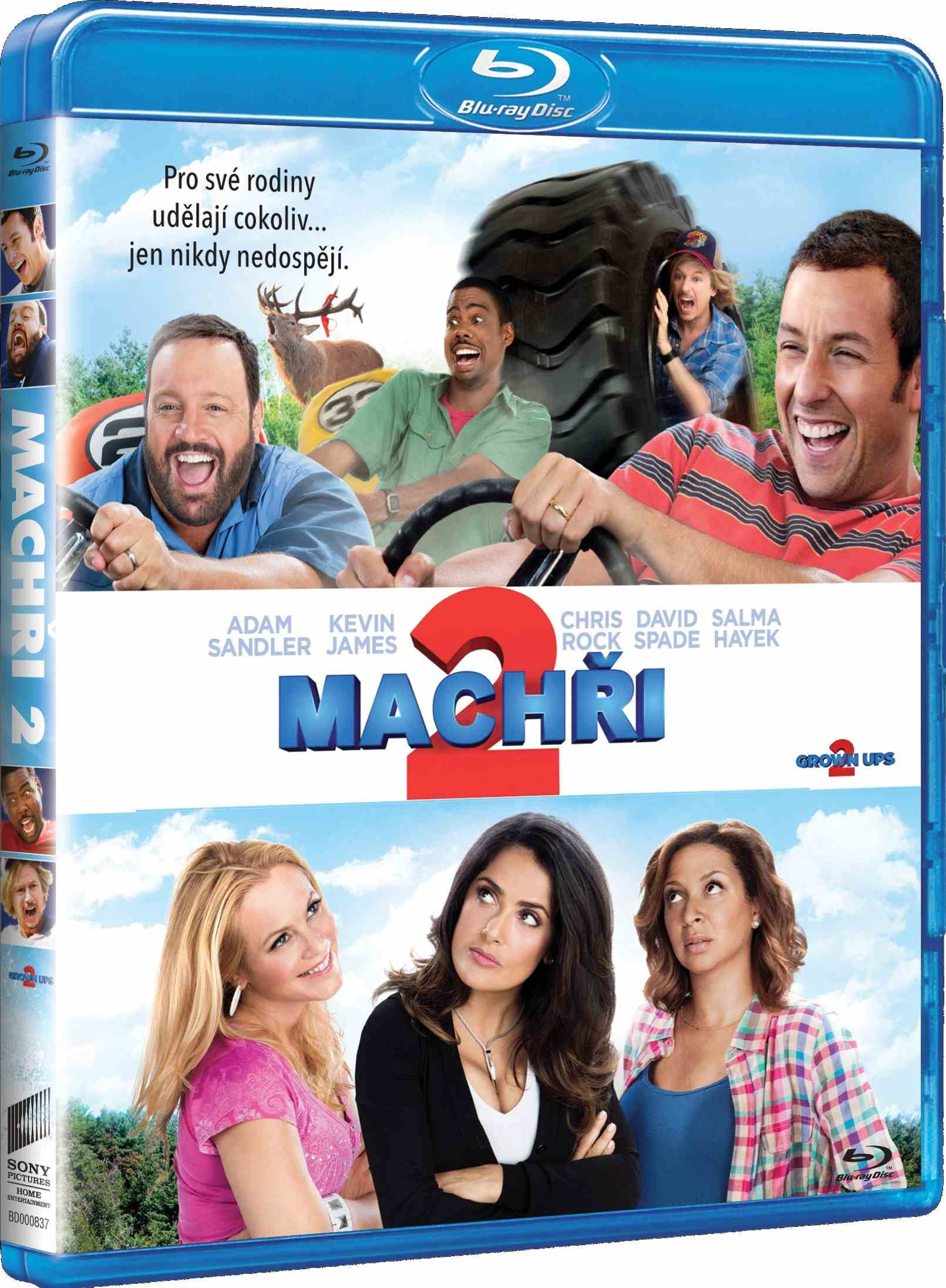MACHŘI 2 - Blu-ray