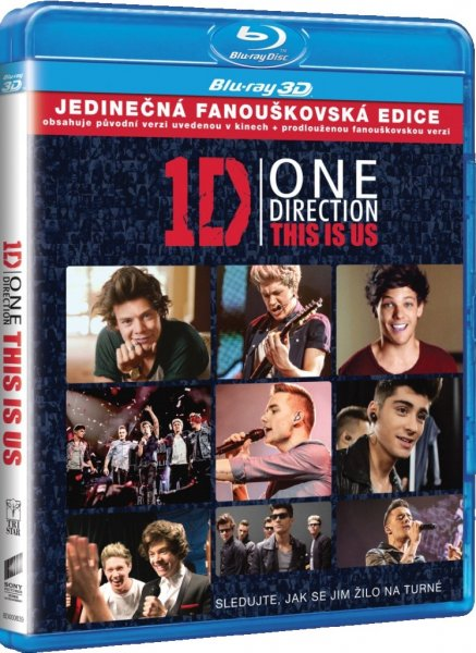 detail ONE DIRECTION: THIS IS US - Blu-ray 3D + 2D