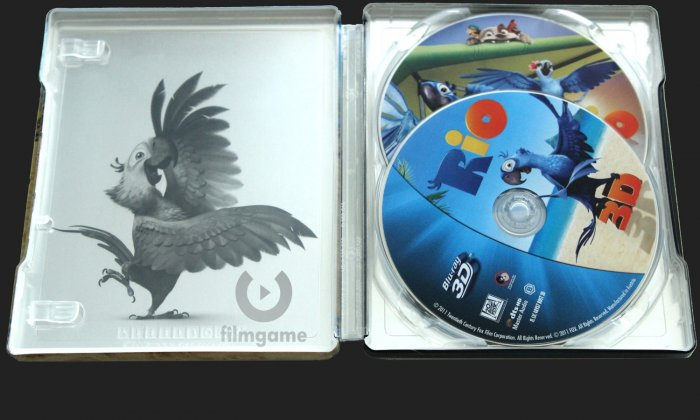 detail Rio - Blu-ray 3D + 2D Steelbook