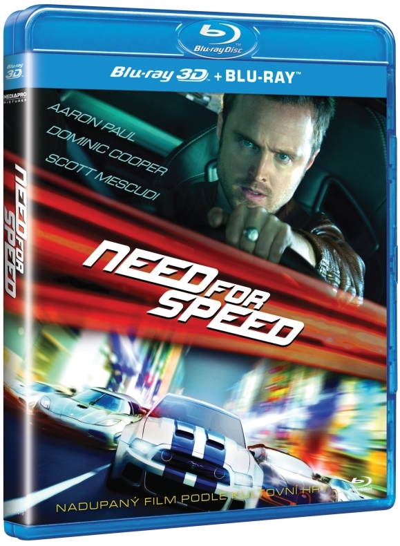 NEED FOR SPEED - Blu-ray 3D + 2D
