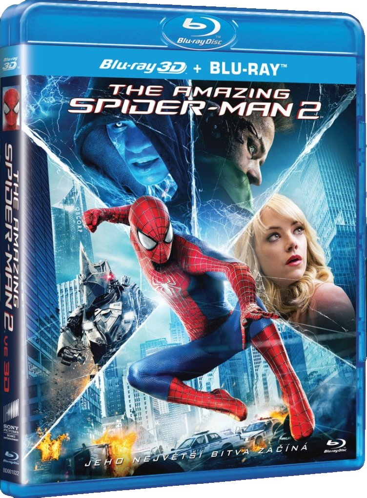 AMAZING SPIDER-MAN 2 - Blu-ray 3D + 2D
