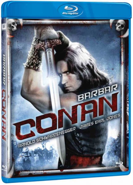 detail Barbar Conan - Blu-ray