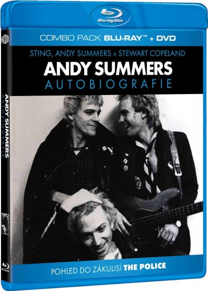 detail ANDY SUMMERS - AUTOBIOGRAFIE - Blu-ray + DVD