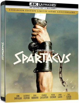 Spartakus (4K Ultra HD) - UHD Blu-ray Steelbook