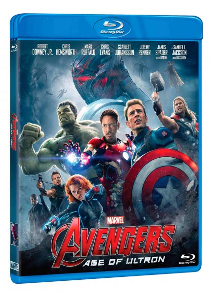 detail AVENGERS 2: AGE OF ULTRON - Blu-ray