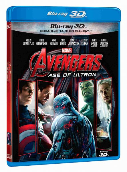 detail Avengers 2: Age of Ultron - Blu-ray 3D + 2D