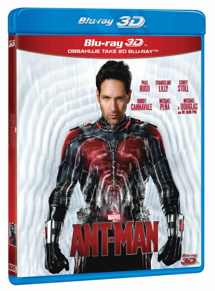 detail ANT-MAN - Blu-ray 3D + 2D