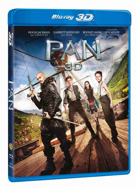 detail Pan - Blu-ray 3D + 2D