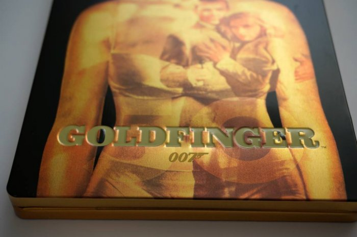 detail BOND - GOLDFINGER - Blu-ray STEELBOOK