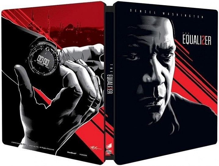 EQUALIZER - Blu-ray STEELBOOK (2 BD)
