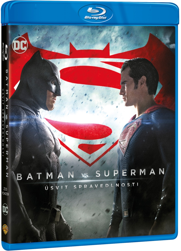BATMAN VS. SUPERMAN: ÚSVIT SPRAVEDLNOSTI - Blu-ray