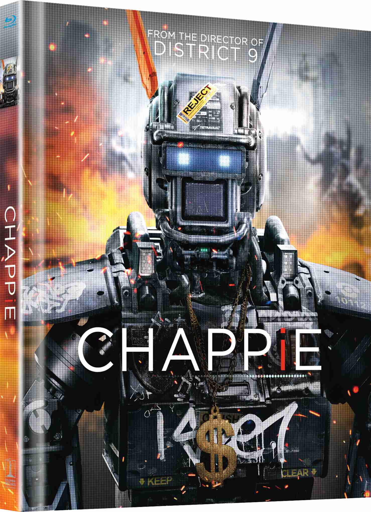CHAPPIE - Blu-ray DIGIBOOK