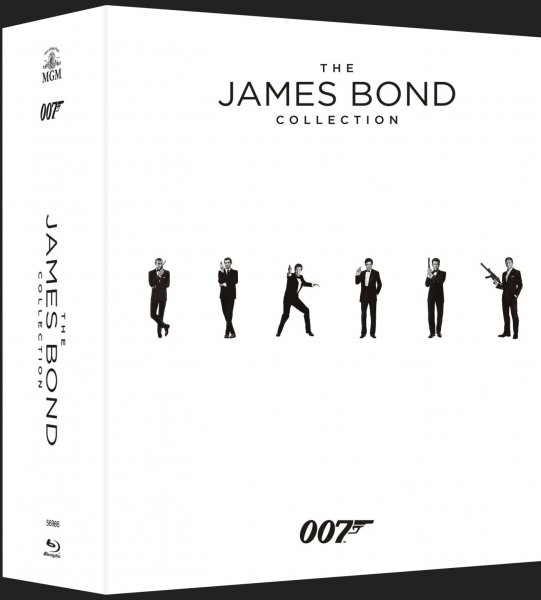 detail James Bond - Kolekce (2015, 23 BD) - Blu-ray