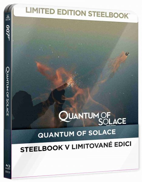 detail Bond - Quantum of Solace - Blu-ray Steelbook