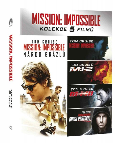 detail Mission: Impossible 1-5 kolekce (5 BD) - Blu-ray