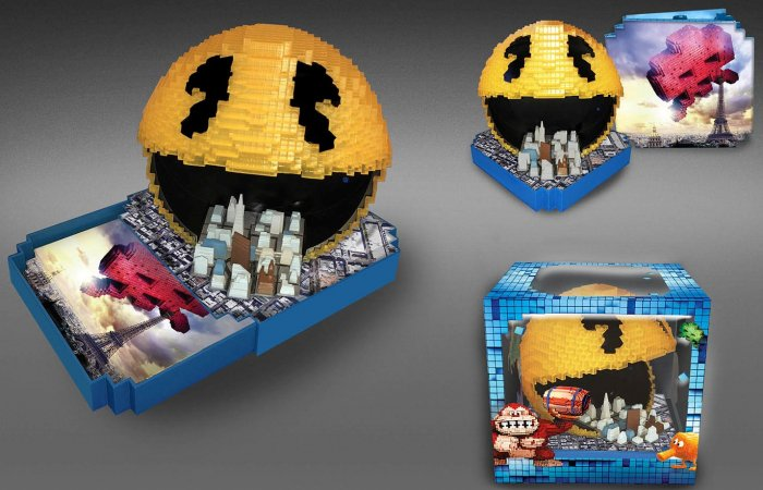 detail PIXELY (Pacman edice) - Blu-ray 3D + 2D
