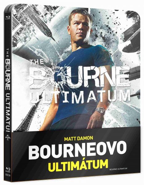 detail Bourneovo ultimátum - Blu-ray Steelbook