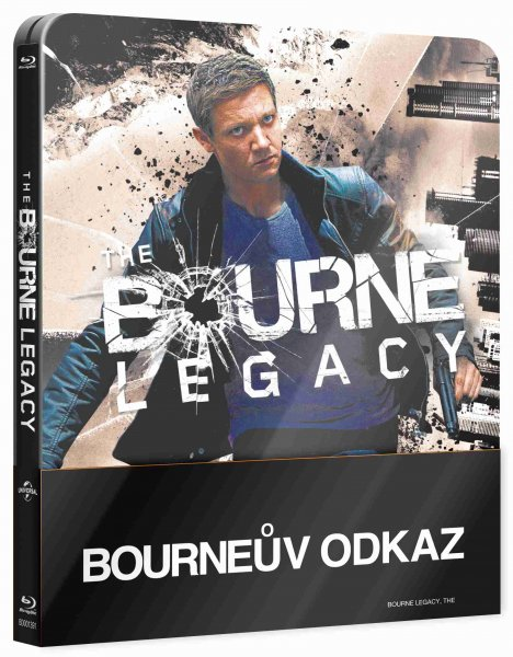 detail Bourneův odkaz - Blu-ray Steelbook