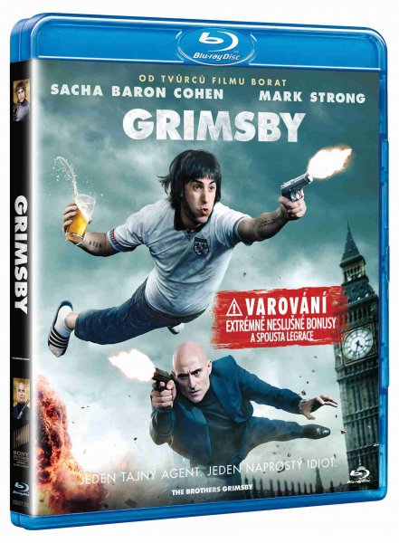 detail GRIMSBY - Blu-ray