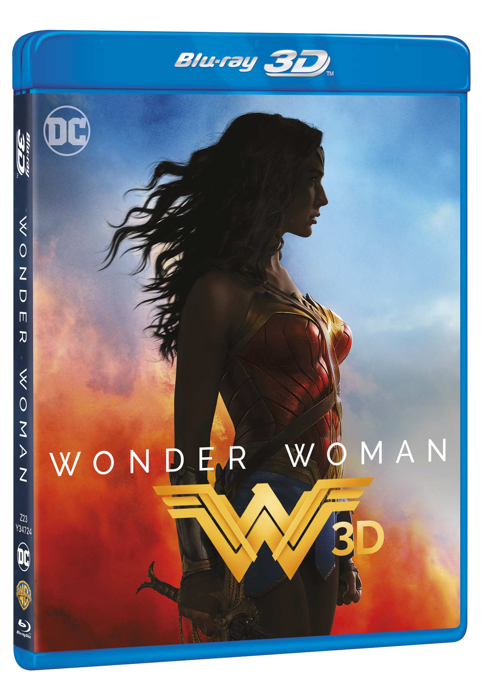 WONDER WOMAN - Blu-ray 3D + 2D