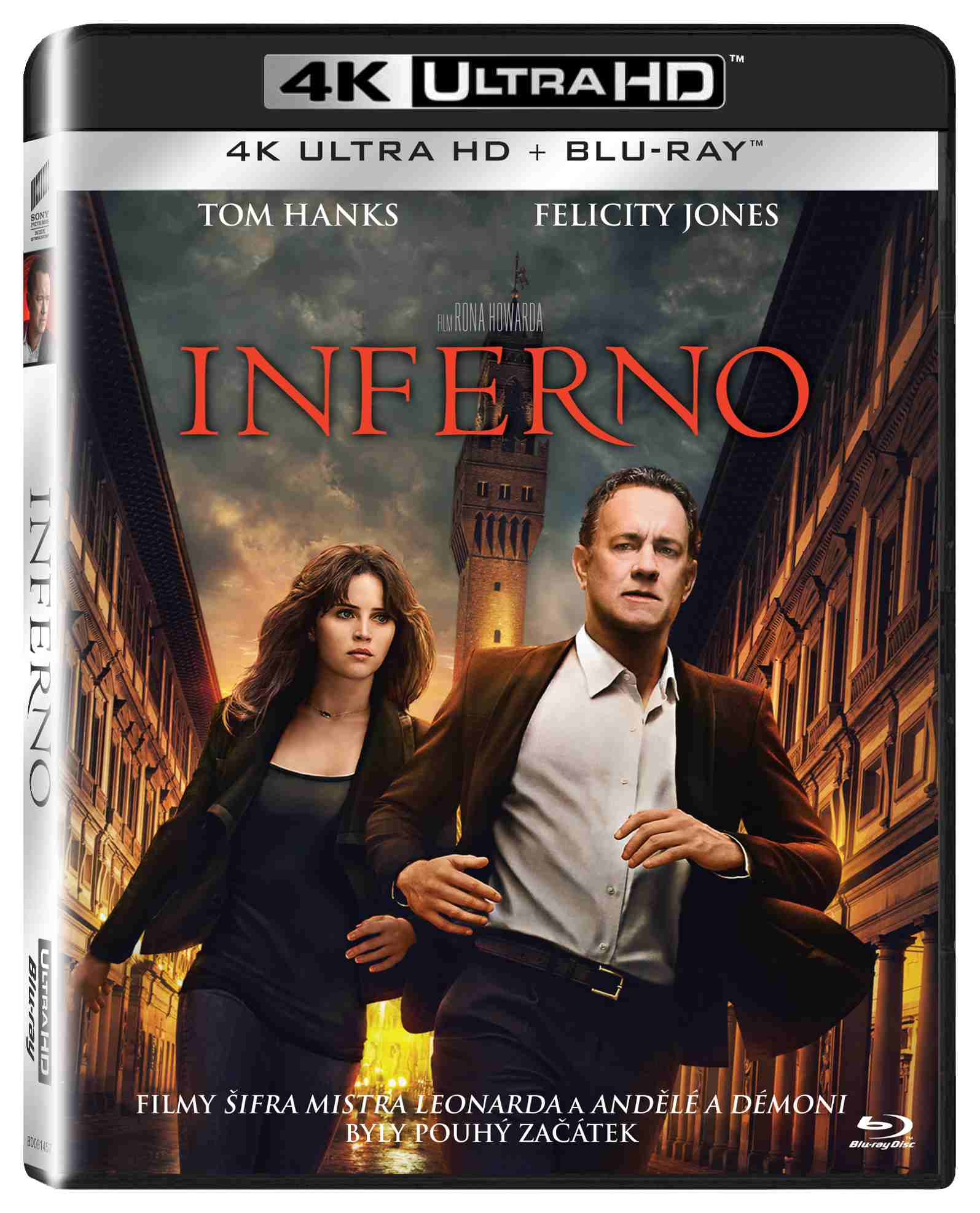 INFERNO (4K ULTRA HD) - UHD Blu-ray + Blu-ray